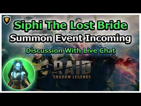 RAID Shadow Legends | Siphi Summoning Event Incoming! | Live Discussion With Chat
