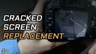 Nikon D3100 LCD Screen Replacement