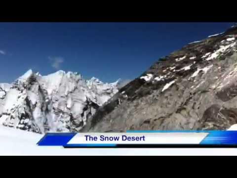 Snow Desert Island Peak