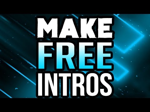 How To Make An Intro For Your YouTube Video for FREE! (2019/2020)
