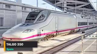 TOP TEN Fastest Trains in The World 2018    Amazing Compilation of the High speed Trains 2018