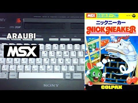 Nick Neaker (Colpax, 1983) MSX [483] Walkthrough Comentado