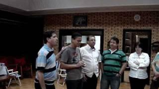 QUARTETO GILEADE - Quando Jesus Estendeu a Sua Mão (acapella)