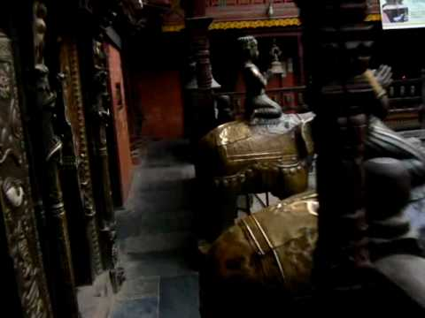 Nepal Patan – Inside The Temple