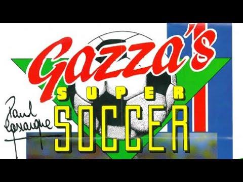 Gazza's Super Soccer (1989) - Commodore Amiga - Tottenham vs Arsenal