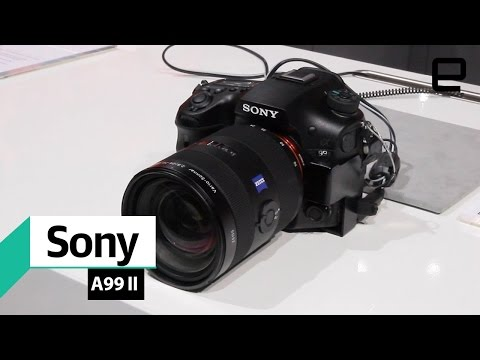 Sony A99 II: First Look