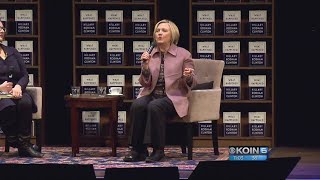 Hillary Clinton talks election, politics now and Moore