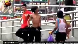 Labas ang matapang! (Siga na kengkoy naghamon ng suntukan!)