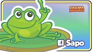 El Sapo - Gallina Pintadita 1 - Oficial - Canciones infantiles para niños y bebés