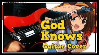 GOD KNOWS - Suzumiya Haruhi No Yuutsu - Guitar Cover (ft. Supreme Neko)