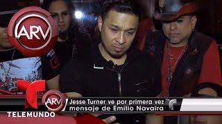 Integrante de grupo Siggno ve mensaje de Emilio Navaira | Al Rojo Vivo | Telemundo