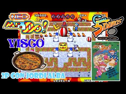 """NEO MR. DO! - """"CON 5 DUROS"""" Episodio 932 (2P con Jordi Alba) (+Psycho Pigs UXB / Amstrad CPC) (1cc)"""