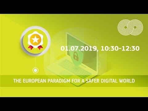 The European paradigm for a safer digital world photo