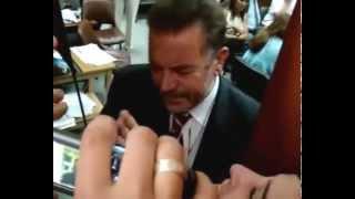 Decano Cs Médicas UNLP Jorge Martinez Amenaza a Estudiantes