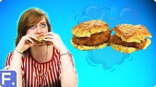 Irish People Try Southern Sandwiches