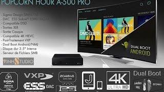 Popcorn Hour A-500 Pro đầu HD thay thế đầu CD Player cao cấp