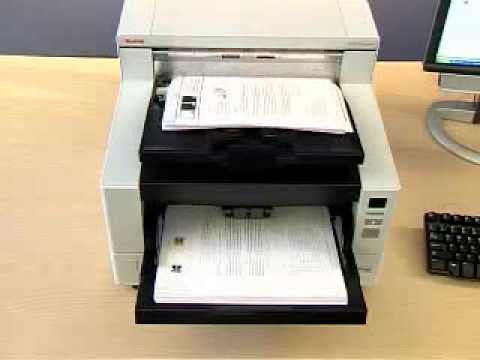 Kodak i4600 Scanner  Controlled Stacking with letter sized d Preview