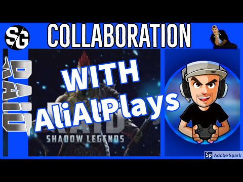 RAID SHADOW LEGENDS | ALIPLAYS RAID TALK | COLLAB
