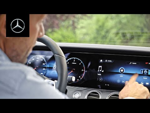 Digital Masterpiece | MBUX & Connectivity in the New E-Class