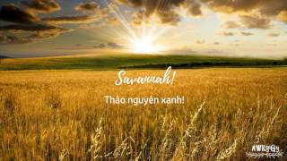 Lyrics || Vietsub || Diviners ft. Philly K - Savannah