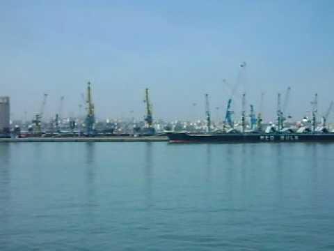 The Port of Casablanca, Morocco.AVI