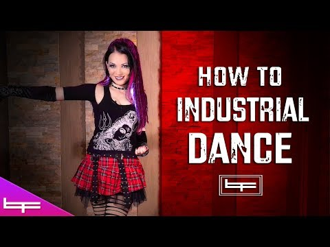 Brioni Faith - Industrial Dance Tutorial