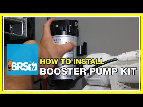 How to install the RODI Booster Pump Kit | BRStv How-To
