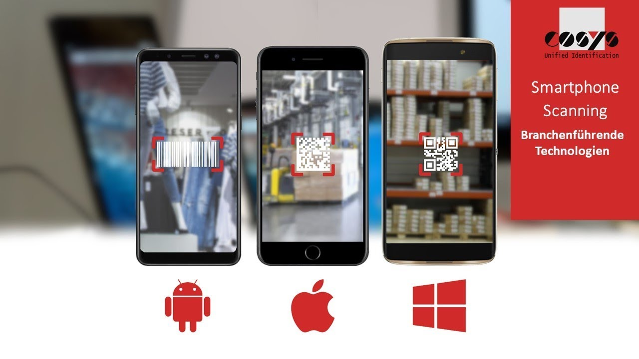 Professionelles Scannen per Smartphone & Tablet | COSYS High Performance Scanning