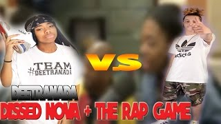 DEETRANADA DISSED THE RAP GAME AND NOVA!!! BURRRRNED!