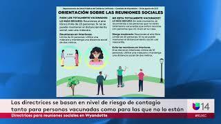 Directrices para reuniones sociales en Wyandotte