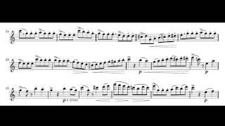 Giuseppe Gariboldi Etudes mignonnes for flute  op131 NO 1