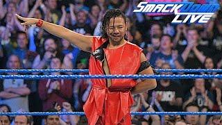 WWE Shinsuke Nakamura Smackdown Live Debut LIVE!!!