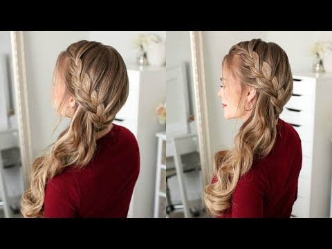 Sideswept French Braid | Missy Sue
