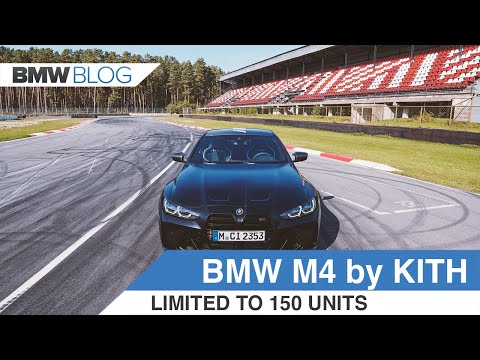 BMW M4 Competition x Kith — 150 Unit Limited Edition M4