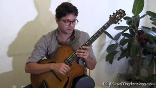 Pasquale Grasso - Jazz Improvisation Lesson 1