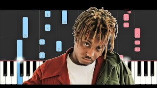 Juice Wrld - Rich And Blind (Piano Tutorial)