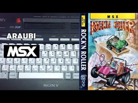 Rock'n Roller (Topo Soft, 1988) MSX [333] Walkthrough Comentado