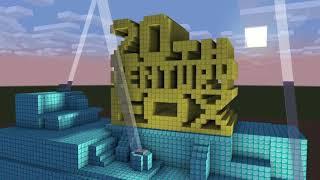 20th Century Fox Logo in Minecraft (To Alden Moeller)