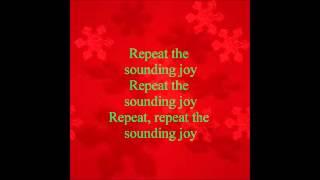 Joy to The World Faith Hill lyrics