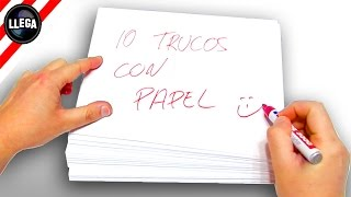 ✔ 10+1 Trucos con Papel | Truco Apuesta Magia