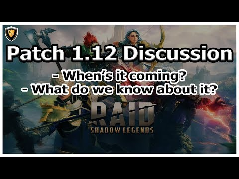 RAID Shadow Legends | Patch 1.12 Discussion