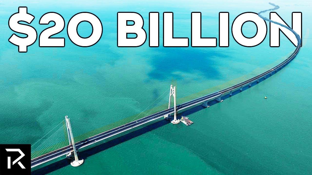 This  Billion Chinese Bridge Crosses The Ocean - Amazing Engineering Technology