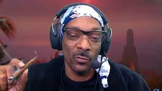 When Snoop Dogg streams on Twitch...