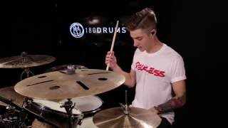 Luke Holland Flam Inspired Groove - Drum Lesson