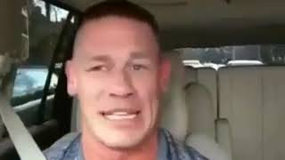 "John Cena sings his own theme song  ""My time is now"""