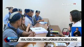 Viral Video Ceramah, GMKI Laporkan Ustaz Abdul Somad