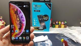 Vidéo-Test : Dome Glass Pour Huawei P20 la protection ultime.