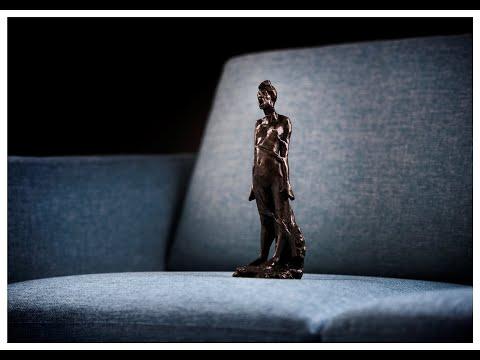 Omvisning på Glomdalsmuseet: «Gustav Vigeland. Angsten står i sofaen»