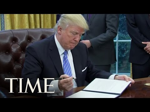 Donald Trump Just Took His First Steps on 'America First'   TIME