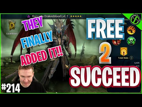 New Debuff I've Been Waiting On For YEARS?! | Free 2 Succeed - EPISODE 214